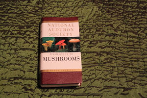 National Audubon Society Mushroom Guide Book rental Traverse City-Cadillac, MI