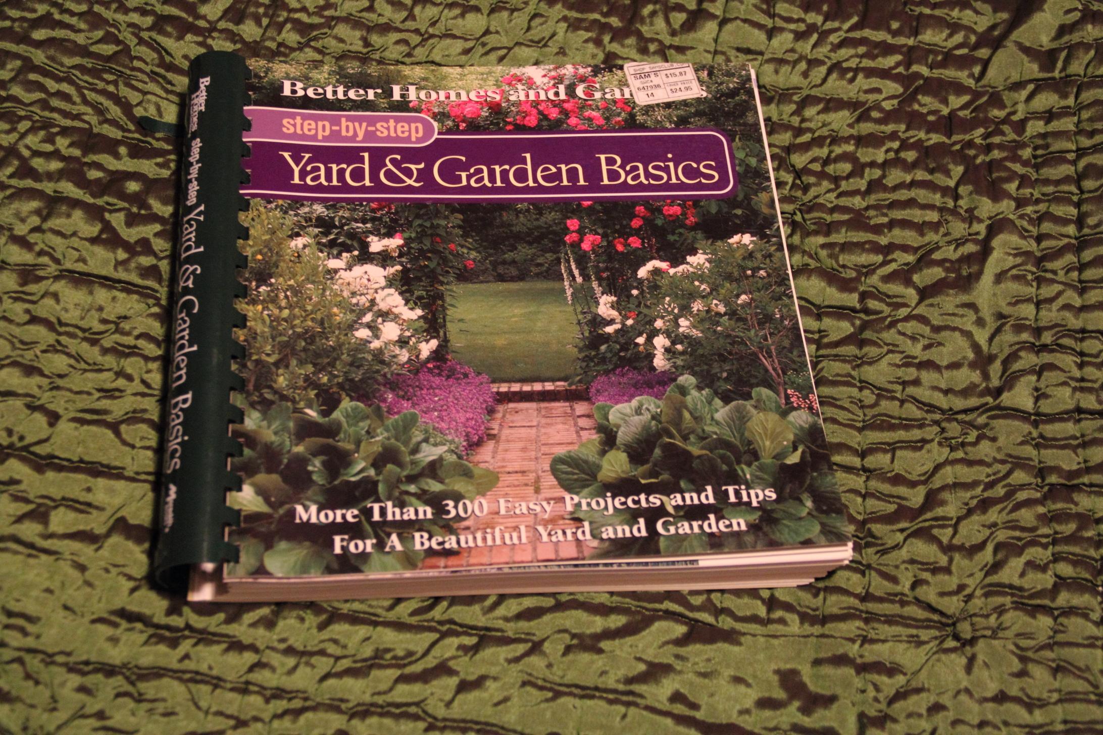 Loanables:Yard & Garden Basics Book located in Traverse City, MI