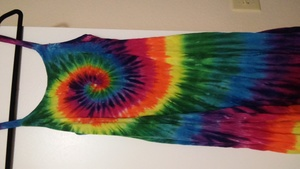 Tie dye dress rental Seattle-Tacoma, WA