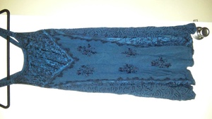 Blue embroidered sundress  rental Seattle-Tacoma, WA