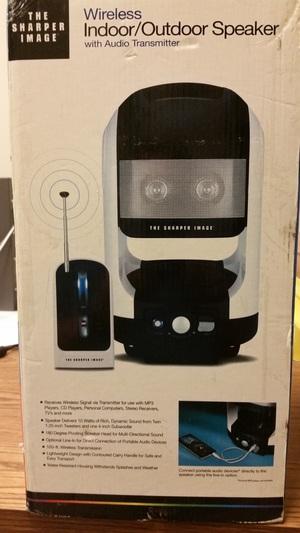 Wireless Indoor / Outdoor Speaker (Sharper Image) rental San Francisco-Oakland-San Jose, CA