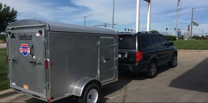 5x8 Enclosed Trailer w/ Truck rental Portland, OR
