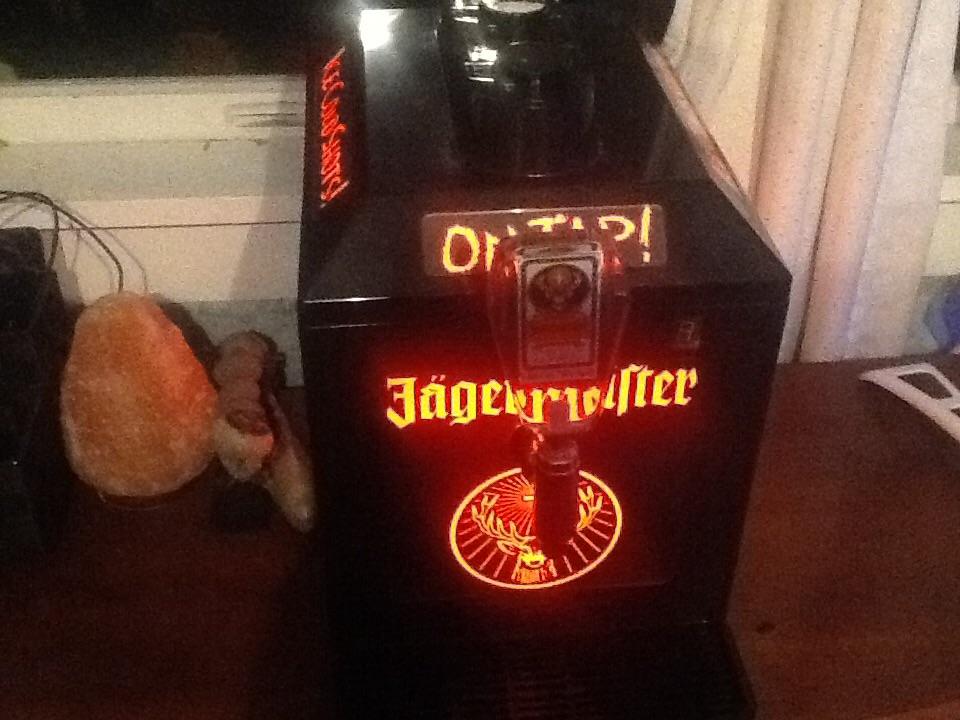 Jäger shot machine ice cold shots