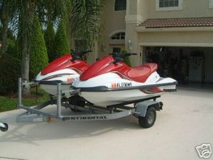 Two Yamaha FX-140 Waverunner 3-Riders rental Miami-Ft. Lauderdale, FL
