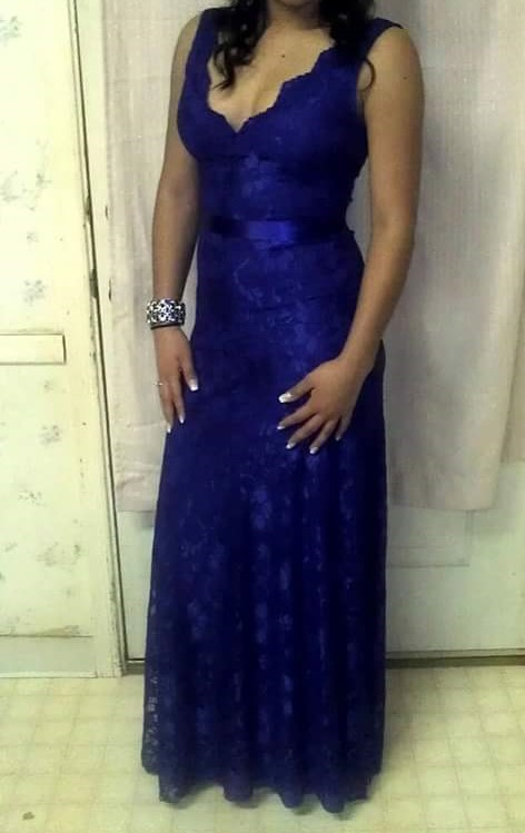 Loanablesroyal Blue Dress Located In Raleigh Nc