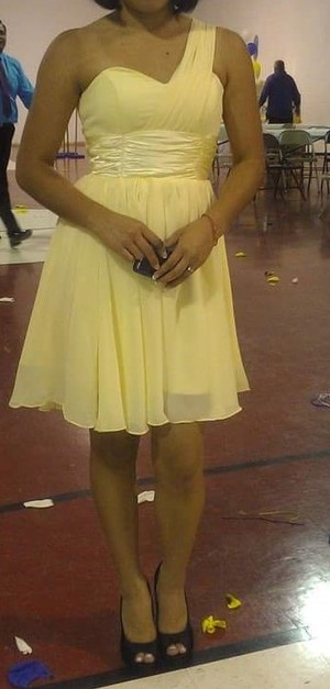 Canary Yellow Dress rental Raleigh-Durham (Fayetteville), NC