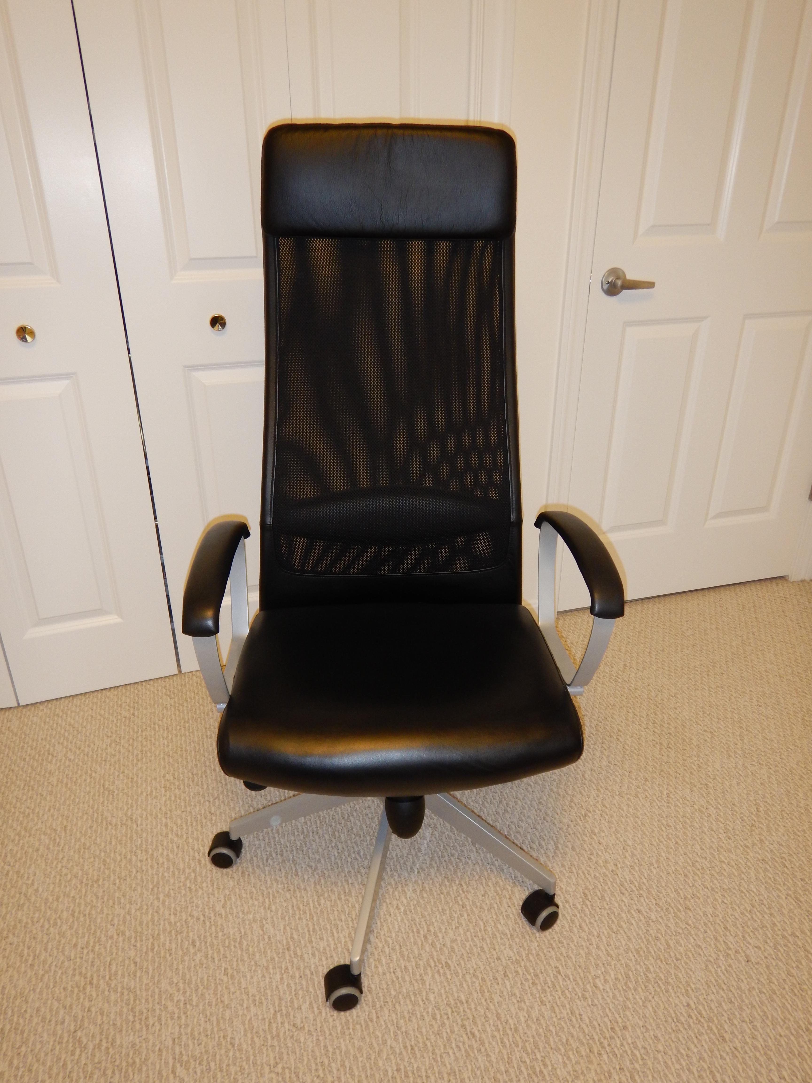 Ikea Markus Office Desk Chair Rental In Nottingham Nh