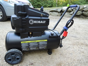 Kobalt 1.8-HP 8-Gall Electric Air Compressor rental Boston, MA-Manchester, NH