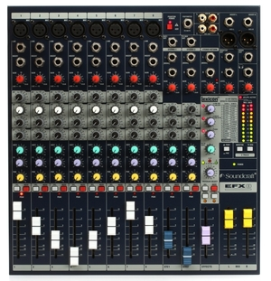 Soundcraft EFX8 8-Channel Mixer w Digital Effects rental Philadelphia, PA
