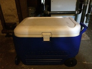 Large cooler on wheels rental Boston, MA-Manchester, NH