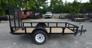 10x5 Utility trailer with ramp rental Nashville, TN
