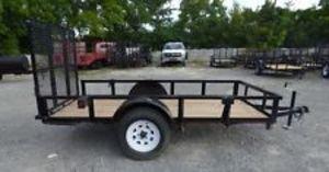 10x5 Utility trailer with ramp rental Nashville, TN