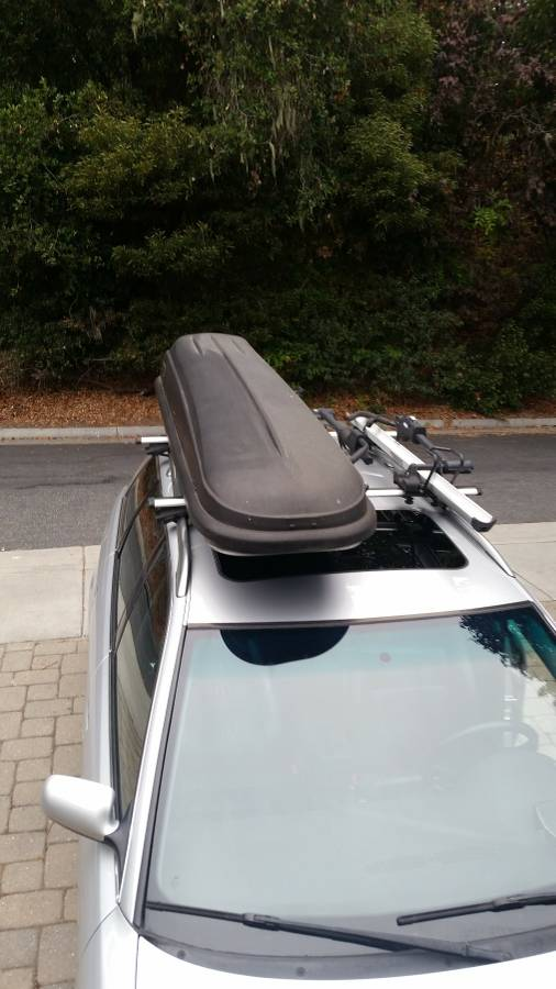 Loanables Thule Frontier Roof Storage Box Rental Located