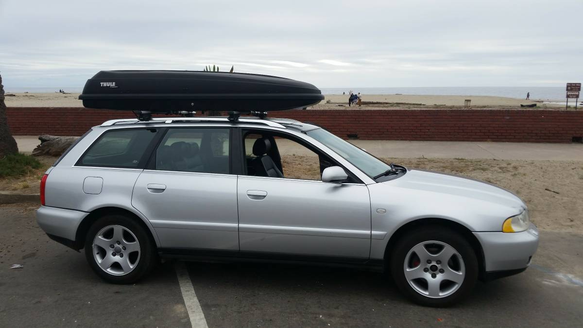 Loanables Thule Frontier Roof Storage Box Rental Located In Boulder Creek Ca