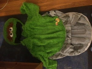 Oscar the Grouch costume adult Sesame Street rental Boston, MA-Manchester, NH