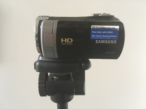 Samsung HMX-F90 Camcorder with Tripod rental Washington, DC (Hagerstown, MD)