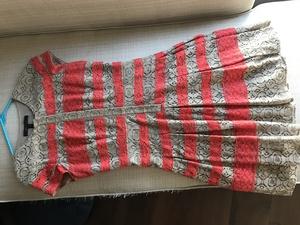 BCBG Lace Stripe Dress - 0 XS rental Seattle-Tacoma, WA