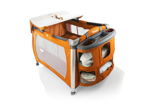 Portable crib and playpen