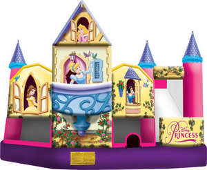 Bounce House - Disney Princess 5-N-1 combo rental Austin, TX