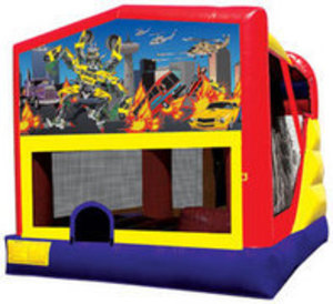 Bounce House & Slide Combo - Robo Car rental Austin, TX