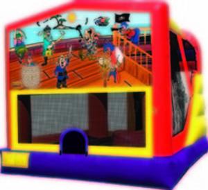 Bounce House & Slide Combo - Pirate rental Austin, TX