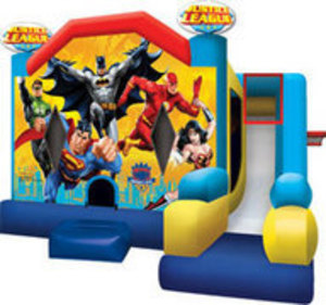 Bounce House & Slide Combo - Justice League rental Austin, TX