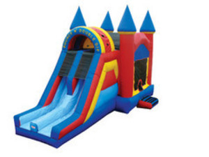 Bounce House Jump N Slide Combo - Dual Lane rental Austin, TX