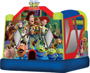 Bounce House & Slide Combo - Toy Story rental Austin, TX
