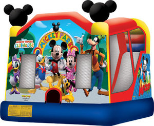 Bounce House & Slide Combo - Mickey Mouse rental Austin, TX