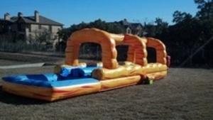 Volcano Slip N Slide Water Slide rental Austin, TX