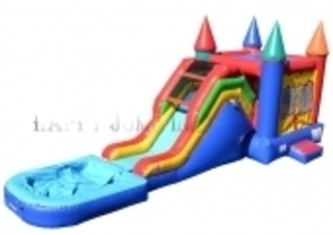 Castle Jump N Slide Water Slide rental Austin, TX
