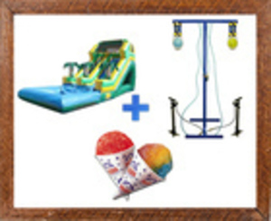Water Slide Party Package rental Austin, TX