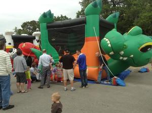 Slide & Bounce House Party Package rental Austin, TX