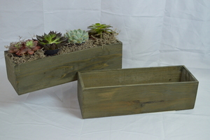 Rustic Planter Box rental Austin, TX
