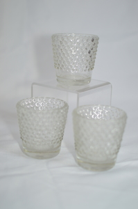 Hobnail Votive Holder rental Austin, TX