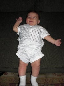 Baby boy Baptism suit rental Austin, TX