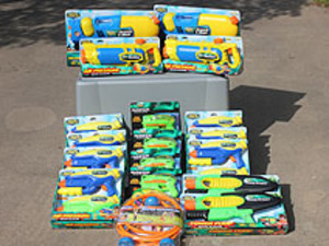 Water Gun Package rental Austin, TX