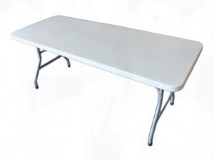 Kid's 2.5x6 foot White Table rental Austin, TX