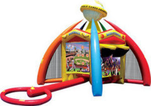 Sports Game Bounce House rental Austin, TX