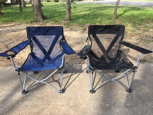 Portable Travel Chairs (Pair) rental Austin, TX