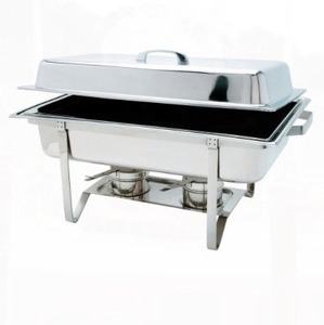 Stainless 8 QT Chafer rental Austin, TX