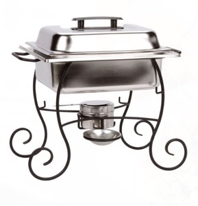 Wrought Iron 4 QT Chafer rental Austin, TX