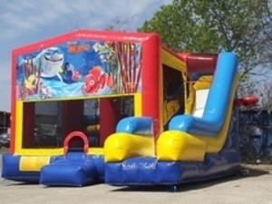 Bounce House Combo with Nemo Panel rental Austin, TX