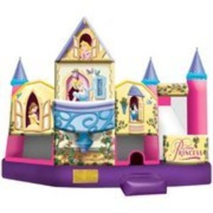 Bounce House Disney Princess 5 in 1 Combo rental Austin, TX
