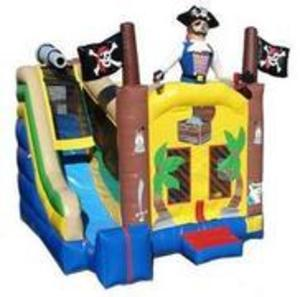 Pirate Bounce House Combo rental Austin, TX