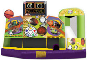 Sports Bounce House 5 in 1 Combo rental Austin, TX