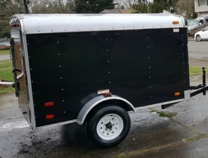 5' x 8' aluminum trailer rental Portland, OR