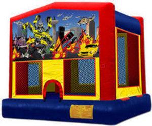 13x13 Bounce House with Robocar Panel rental Austin, TX