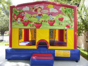 15x15 Bounce House with Strawberry Shortcake rental Austin, TX