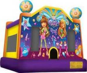 15x15 Girl Thing Bounce House  rental Austin, TX